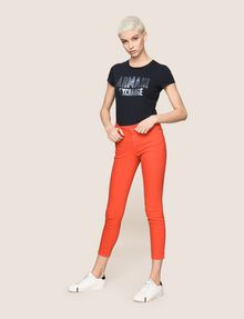 ARMANI EXCHANGE COLORFUL CROPPED SUPER-SKINNY JEANS Skinny jeans Woman d