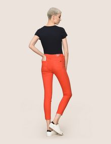 ARMANI EXCHANGE COLORFUL CROPPED SUPER-SKINNY JEANS Skinny jeans Woman e