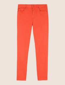 ARMANI EXCHANGE COLORFUL CROPPED SUPER-SKINNY JEANS Skinny jeans Woman r