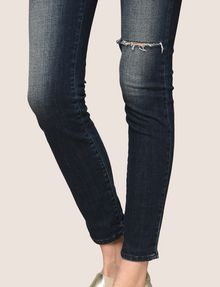 ARMANI EXCHANGE RAZORED HIGH-RISE SUPER-SKINNY JEANS Skinny jeans Woman b