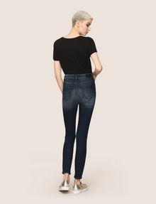 ARMANI EXCHANGE RAZORED HIGH-RISE SUPER-SKINNY JEANS Skinny jeans Woman e