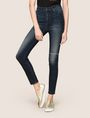 ARMANI EXCHANGE RAZORED HIGH-RISE SUPER-SKINNY JEANS Skinny jeans Woman f