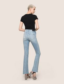 ARMANI EXCHANGE RAZORED POWER STRETCH FLARE JEANS Flare Jean Woman e
