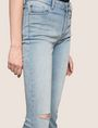 ARMANI EXCHANGE RAZORED POWER STRETCH FLARE JEANS Flare Jean Woman b