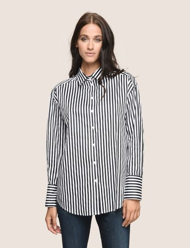 DROP-SHOULDER OVERSIZED SHIRT