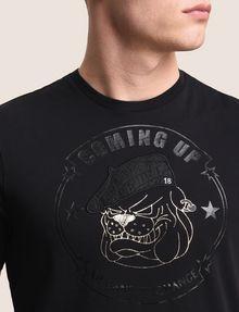 ARMANI EXCHANGE BULLDOG LOGO CREWNECK TEE Logo T-shirt Man b