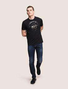 ARMANI EXCHANGE BULLDOG LOGO CREWNECK TEE Logo T-shirt Man d