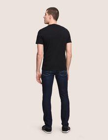 ARMANI EXCHANGE BULLDOG LOGO CREWNECK TEE Logo T-shirt Man e
