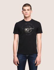 ARMANI EXCHANGE BULLDOG LOGO CREWNECK TEE Logo T-shirt Man f