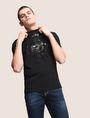 ARMANI EXCHANGE BULLDOG LOGO CREWNECK TEE Logo T-shirt Man a