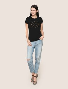 ARMANI EXCHANGE JEANS BOYFRIEND STONE WASHED Jeans boyfriend Donna d