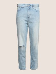 ARMANI EXCHANGE RAZORED POWER STRETCH BOYFRIEND JEANS Boyfriend Denim Woman r