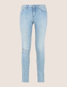 ARMANI EXCHANGE DESTROYED POWER-STRETCH SUPER-SKINNY JEANS Skinny jeans [*** pickupInStoreShipping_info ***] r