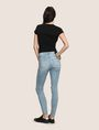 ARMANI EXCHANGE DESTROYED POWER-STRETCH SUPER-SKINNY JEANS Skinny jeans [*** pickupInStoreShipping_info ***] e