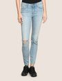 ARMANI EXCHANGE DESTROYED POWER-STRETCH SUPER-SKINNY JEANS Skinny jeans [*** pickupInStoreShipping_info ***] f
