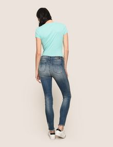 ARMANI EXCHANGE RAW HEM POWER-STRETCH SUPER-SKINNY JEANS Skinny jeans Woman e