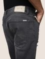 ARMANI EXCHANGE WORN THROUGH TAPERED FIT JEANS Tapered Jean Man b