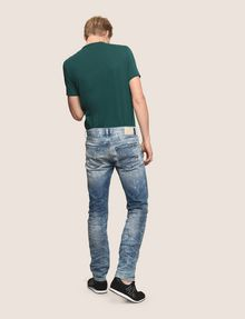 ARMANI EXCHANGE SLIM-FIT BLEACHED DISTRESSED JEANS SLIM FIT JEANS Man e