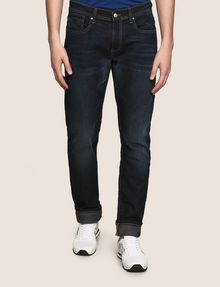Hot Sale Sale Online With Mastercard Closed contrast stich skinny jeans Reliable Online hn1qItjlC