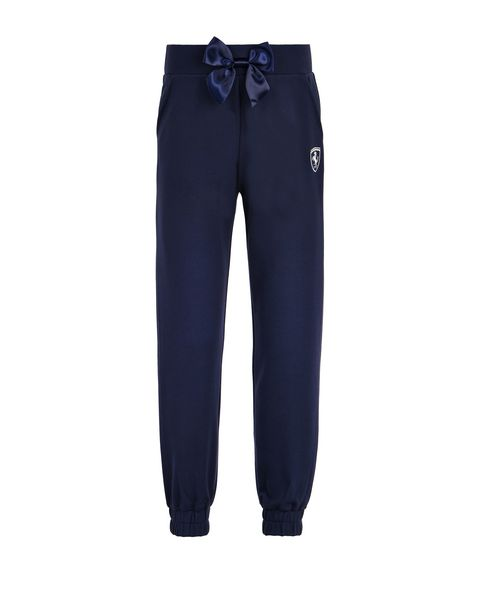Jogging bottoms in Milano jersey for girls