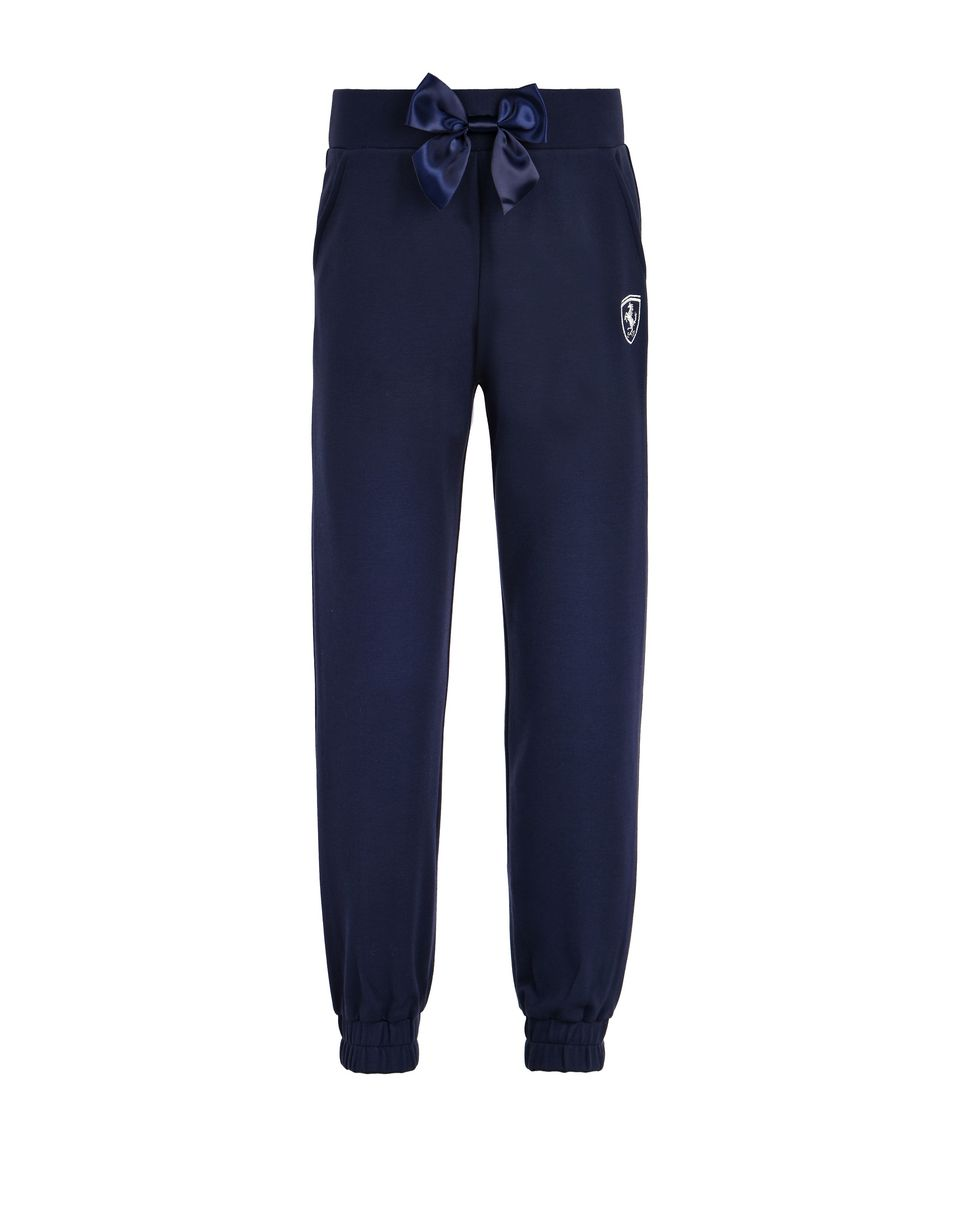 Scuderia Ferrari Online Store - Jogging bottoms in Milano jersey for girls -