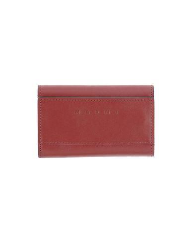 MARNI メンズ 財布 レンガ 革