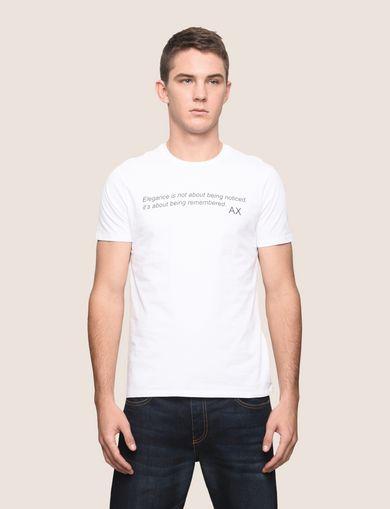 メッセージプリントTシャツ