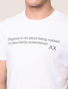 ARMANI EXCHANGE メッセージプリントTシャツ グラフィックTシャツ メンズ b