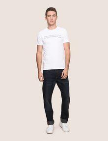 ARMANI EXCHANGE メッセージプリントTシャツ グラフィックTシャツ メンズ d