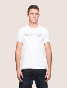 ARMANI EXCHANGE メッセージプリントTシャツ グラフィックTシャツ メンズ f
