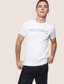 ARMANI EXCHANGE メッセージプリントTシャツ グラフィックTシャツ メンズ a