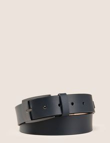 ARMANI EXCHANGE SLEEK MINIMAL LOGO BUCKLE BELT Belt Man f