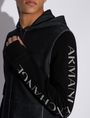 ARMANI EXCHANGE CLASSIC BICOLOR LOGO HOODIE Sweatshirt [*** pickupInStoreShippingNotGuaranteed_info ***] b