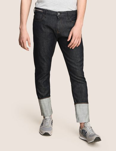 MADE IN ITALY SELVEDGE CARROT-FIT JEAN