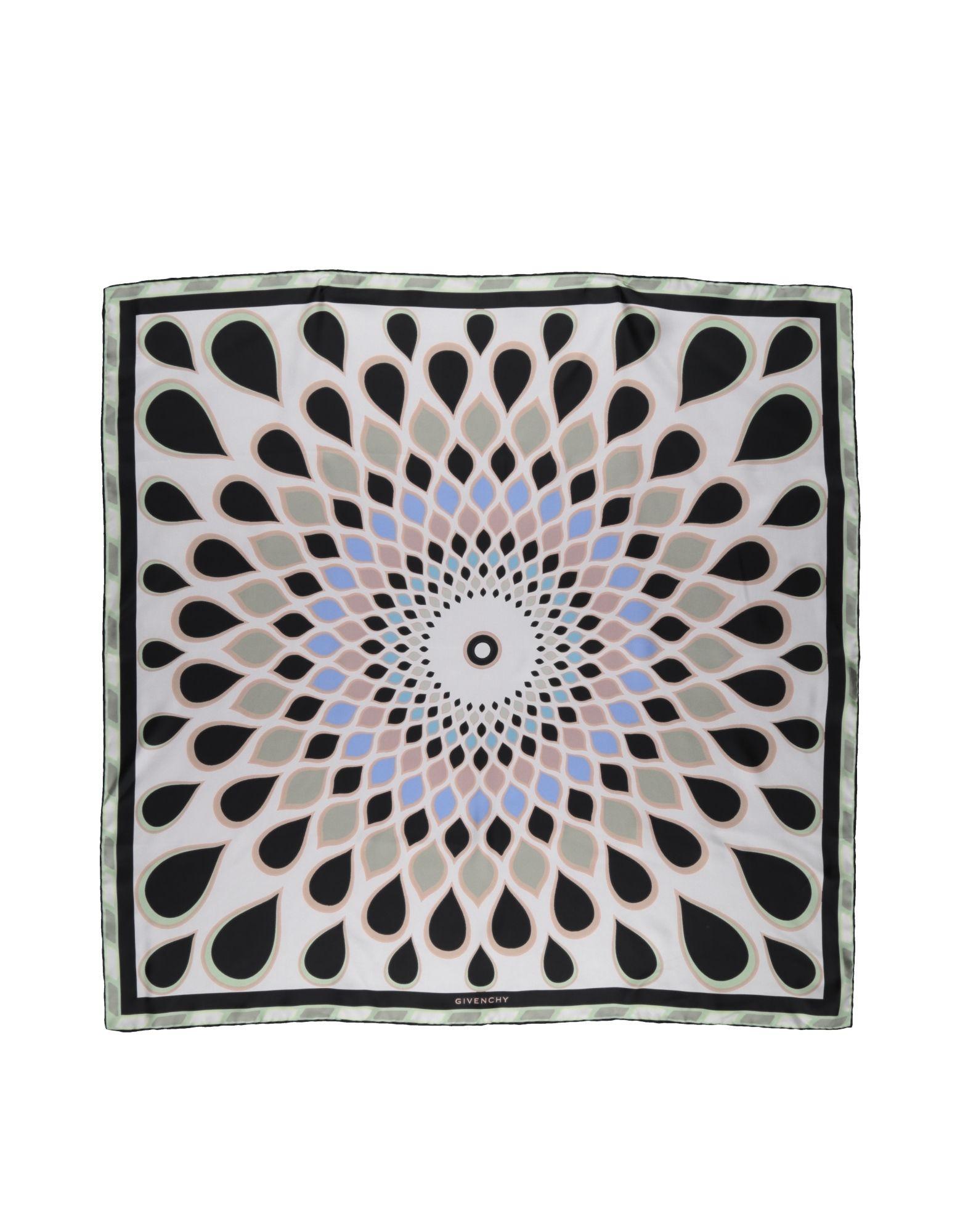 GIVENCHY Платок шарф givenchy серый