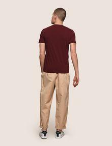 ARMANI EXCHANGE CLASSIC MINIMAL LOGO V-NECK Logo T-shirt Man e