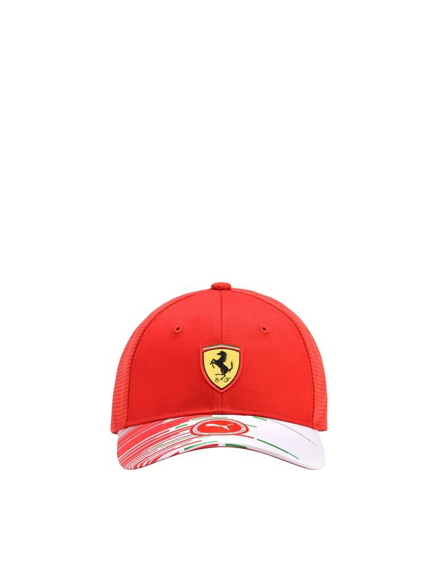 Scuderia Ferrari Online Store - Team Scuderia Ferrari Replica Cap for teens - Baseball Caps
