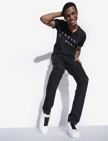 ARMANI EXCHANGE CLASSIC MINIMAL LOGO V-NECK Logo T-shirt [*** pickupInStoreShippingNotGuaranteed_info ***] a