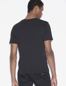 ARMANI EXCHANGE CLASSIC MINIMAL LOGO V-NECK Logo T-shirt [*** pickupInStoreShippingNotGuaranteed_info ***] e