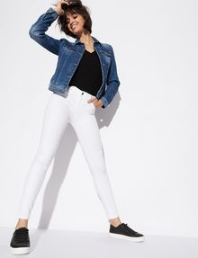 ARMANI EXCHANGE CLASSIC WHITE SUPER-SKINNY JEAN Skinny jeans Woman a