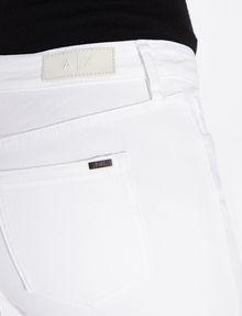 ARMANI EXCHANGE CLASSIC WHITE SUPER-SKINNY JEAN Skinny jeans Woman b