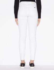 ARMANI EXCHANGE CLASSIC WHITE SUPER-SKINNY JEAN Skinny jeans Woman e