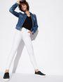 ARMANI EXCHANGE CLASSIC WHITE SUPER-SKINNY JEAN Skinny jeans [*** pickupInStoreShipping_info ***] a
