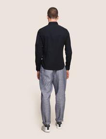 ARMANI EXCHANGE COVERED PLACKET UTILITY POCKET SHIRT Long sleeve shirt Man e