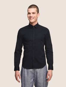 ARMANI EXCHANGE COVERED PLACKET UTILITY POCKET SHIRT Long sleeve shirt Man f