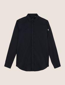 ARMANI EXCHANGE COVERED PLACKET UTILITY POCKET SHIRT Long sleeve shirt Man r