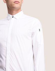 ARMANI EXCHANGE COVERED PLACKET UTILITY POCKET SHIRT Long-Sleeved Shirt Man b