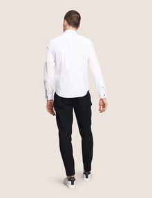 ARMANI EXCHANGE COVERED PLACKET UTILITY POCKET SHIRT Long-Sleeved Shirt Man e