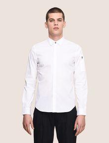 ARMANI EXCHANGE COVERED PLACKET UTILITY POCKET SHIRT Long-Sleeved Shirt Man f