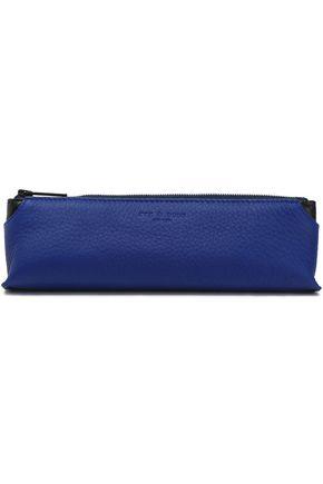RAG & BONE Textured-leather pencil case